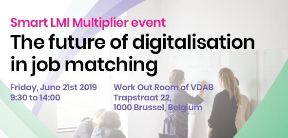 Er zijn nog plaatsen vrij voor het evenement 'The future of digitalization in job matching'
